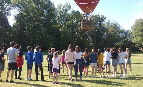 vols en globus per escoles